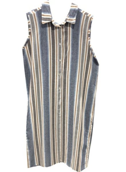 M ITALY STRIPE DUSTER