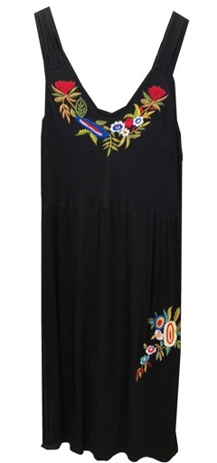 MINKAS EMBROIDERED DRESS