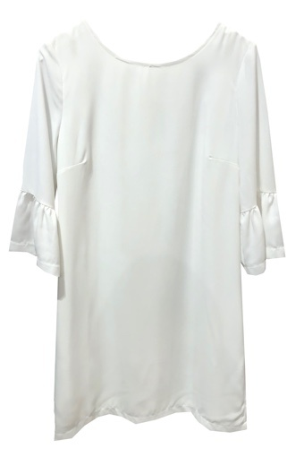 ESQUALO BELL SLEEVE DRESS