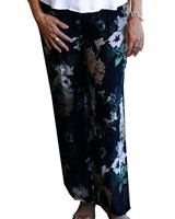 M ITALY LINED SILK PANT