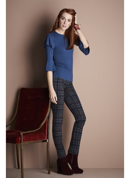 LISETTE IRISH PLAID SLIM PANT