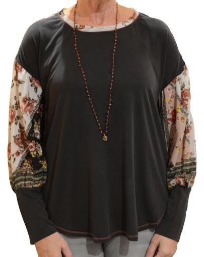 MYSTEREE MODAL SILK TOP