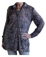 FRESHFX FLOWERED BLOUSE