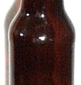 LDC Beer Bottles Amber 12 Oz  (24/case)