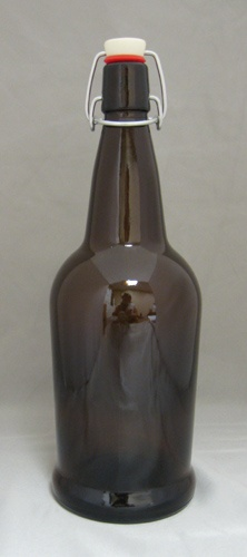 LDC Amber 1L EZ Cap Bottles (12/case)