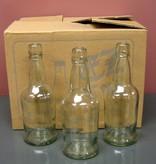 LDC Clear 16 Oz EZ Cap Bottles (12/case)