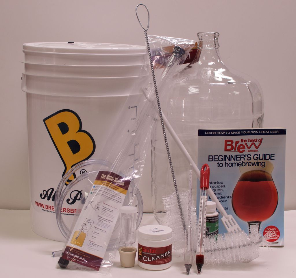 CNC Five Gallon Beer Starter Equipment Kit