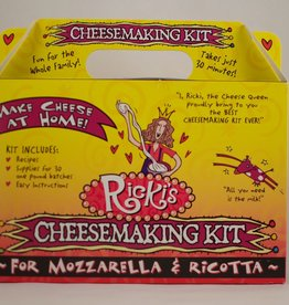 N.E. Cheesemaking Ricki's Mozzarella Cheesemaking Kit