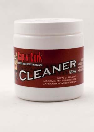 CNC Cap N Cork Cleaner / Brewery Wash 8 Oz