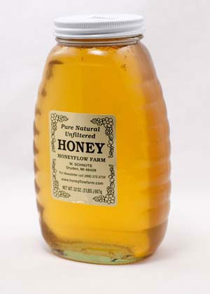 Honeyflow Farm 2 Lb Michigan Wildflower Honey