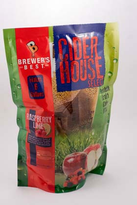 Brewers Best Cider House Select Raspberry Lime Cider