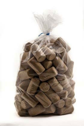 LDC 9 X 1 3/4 Aglica Wine Corks 100/Bag