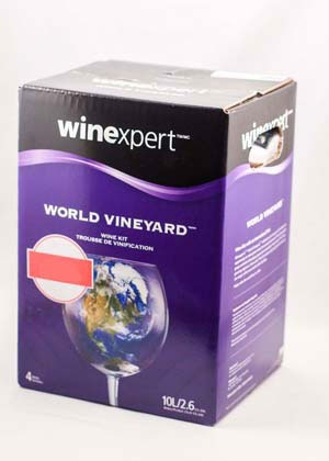 Winexpert World Vineyard California Trinity White 10L
