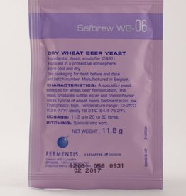 Fermentis Safbrew WB-06 Dry Wheat Beer Yeast 11.5 Grams