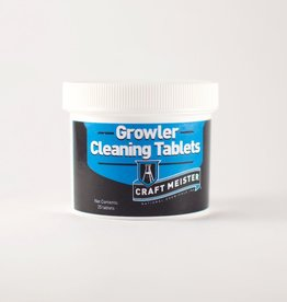 National Chemicals Inc. Craft Meister Growler Cleaning Tablets 25 Ct