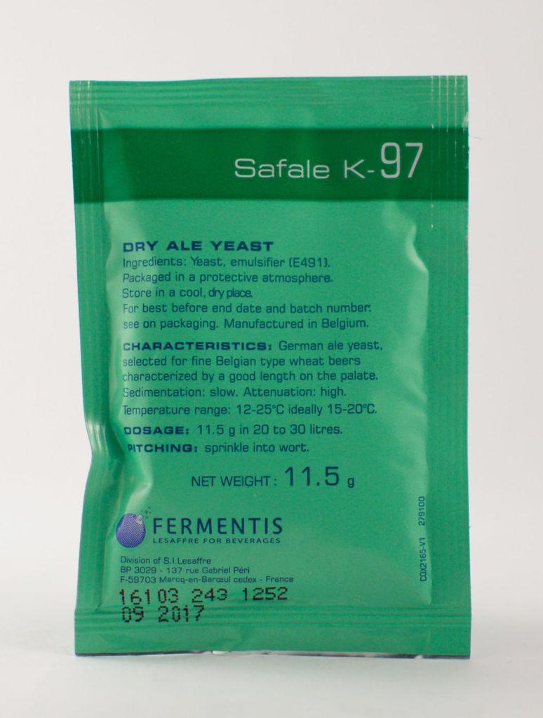 Fermentis Fermentis Safale K-97 Yeast 11.5 g