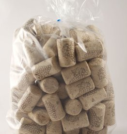 LDC 9 X 1 1/2 First Quality Straight Wine Corks 100/Bag