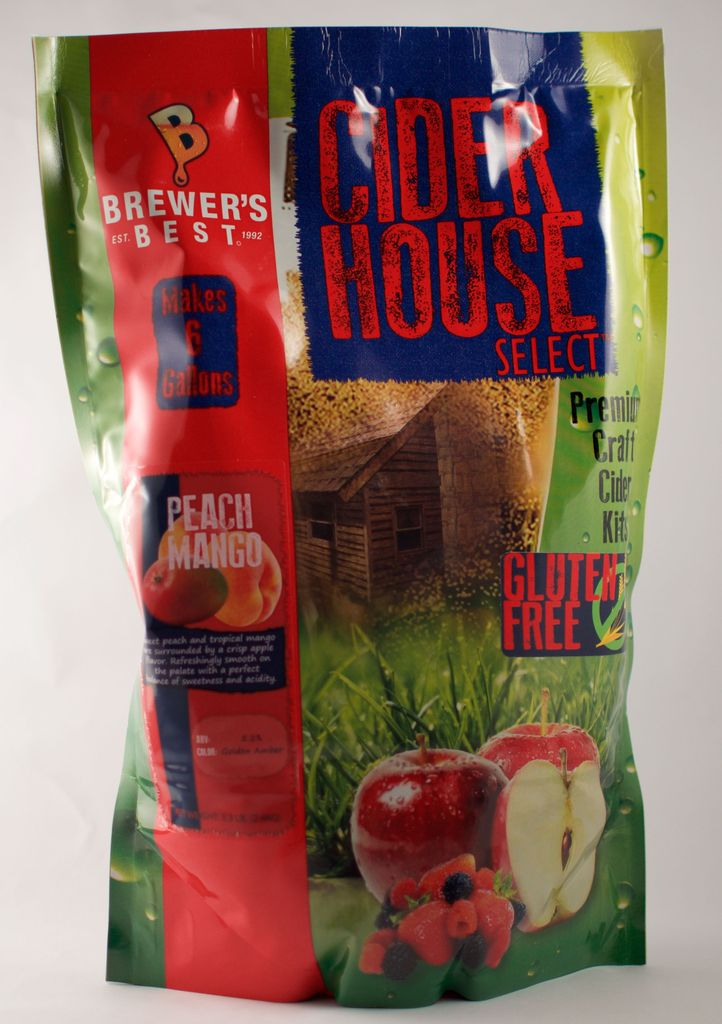 Brewers Best Cider House Select Mango Peach Cider