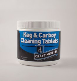 National Chemicals Inc. Craft Meister Keg & Carboy Cleaning Tablets 30 Ct