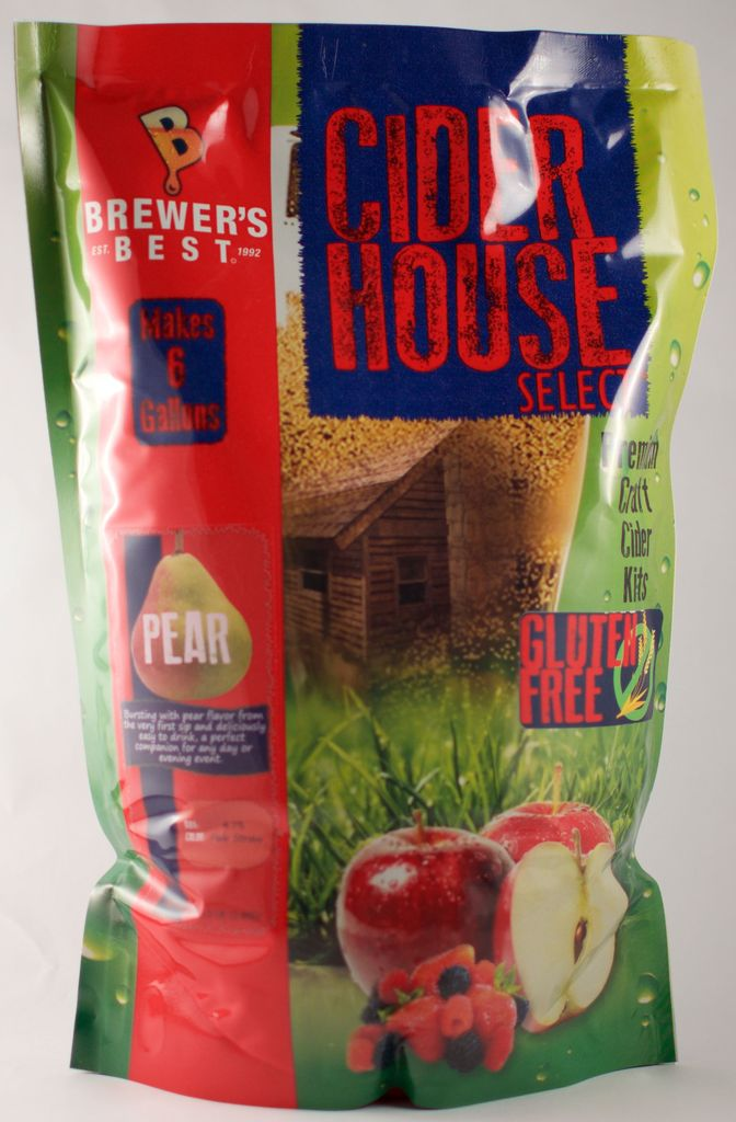 Brewers Best Cider House Select Pear Cider