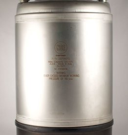 All Safe New 2.5 Gallon Ball Lock Corny Keg  - Steel Handle