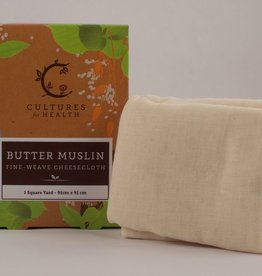 Cultures For Health Butter Muslin, 1 yd (Fine-weave cheese cloth)