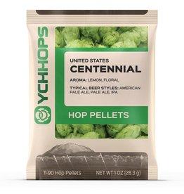 Hops US Centennial Hop Pellets 1 Oz