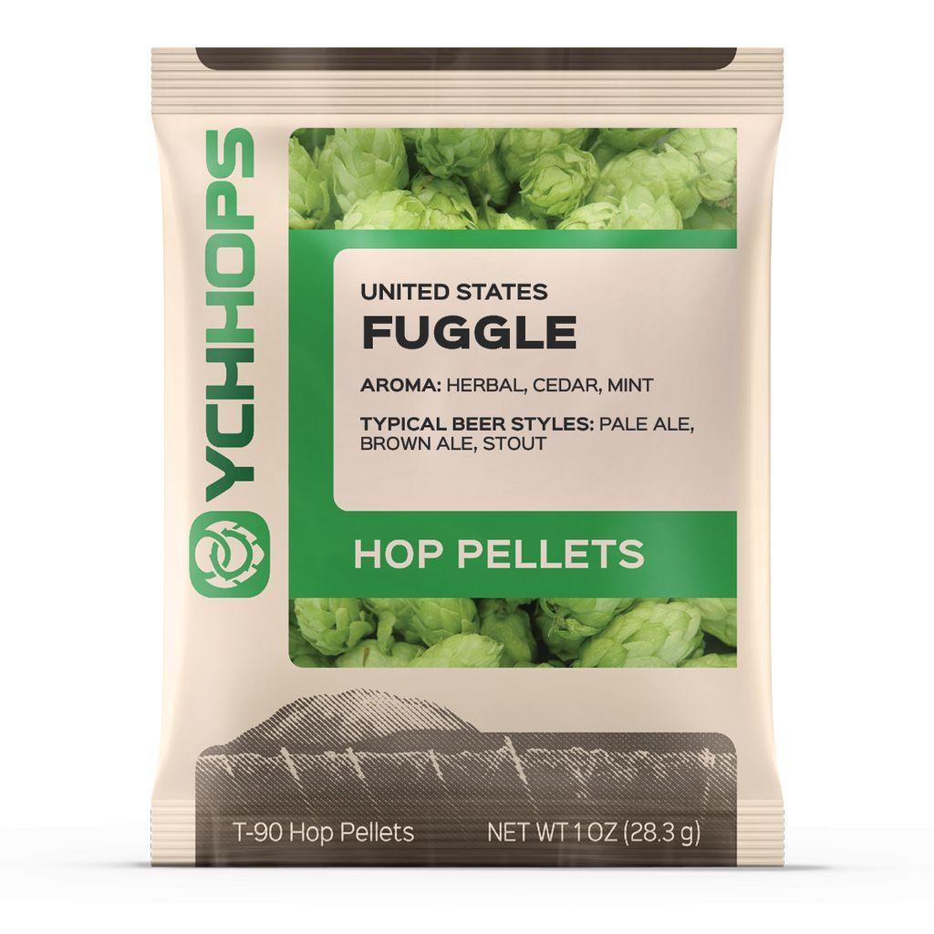 Hops US Fuggle Hop Pellets 1 Oz