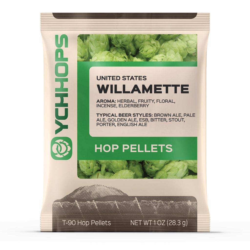 Hops US Willamette Hop Pellets 1 Oz