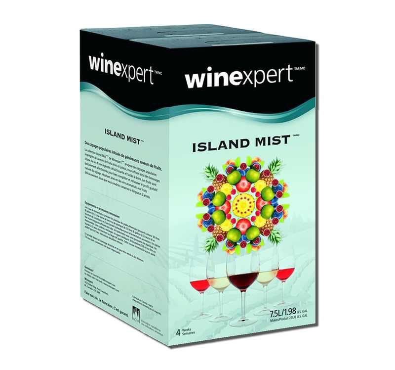 Winexpert Island Mist Kiwi Pear Sauvignon Blanc 7.5L