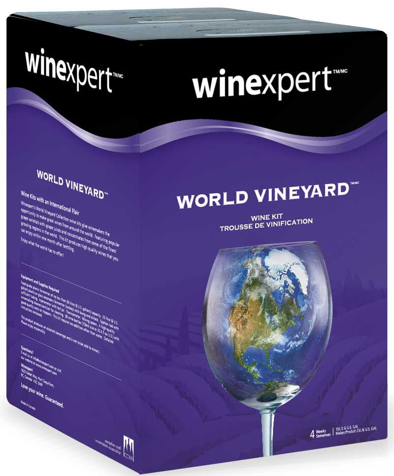 Winexpert World Vineyard Italian Pinot Grigio 10L