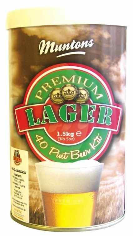 LME Muntons Lager Malt Extract - 1 Tin