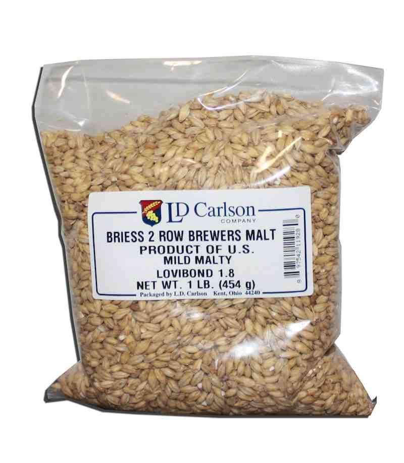 Grain Briess 2-Row Brewers Malt 10 Lb