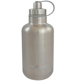 BrewCraftUSA BOSS Triple Insulated SS Beer Growler Bottle SS