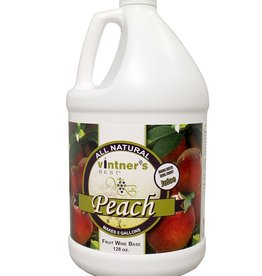 Vintners Best Vintner's Best Peach Fruit Wine Base 128 Oz