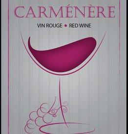 LDC Carmenere Wine Labels 30/pack