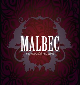 LDC Malbec Wine Labels 30/pack
