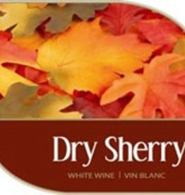 LDC Dry Sherry Wine Labels 30/pack