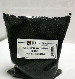 LDC Black Bottle Seal Wax Beads (1 Lb)