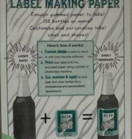 LDC Green Label-making Paper Pk/18