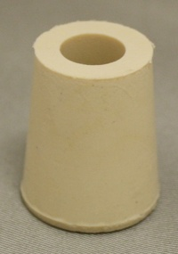 LDC #2 Drilled Rubber Stopper
