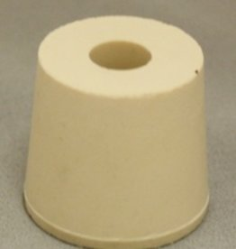 LDC #5.5 Drilled Rubber Stopper