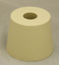 LDC #6 Drilled Rubber Stopper