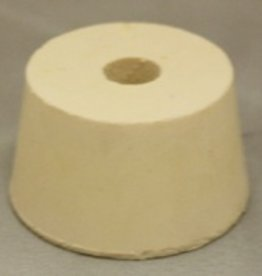 LDC #8.5 Drilled Rubber Stopper
