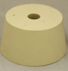 LDC #10 Drilled Rubber Stopper