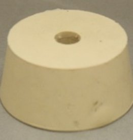 LDC #10.5 Drilled Rubber Stopper