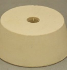 LDC #11.5 Drilled Rubber Stopper -DISCONTINUED