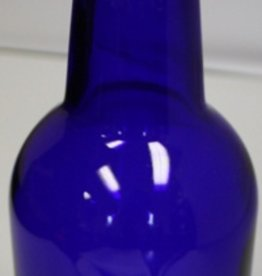 LDC Cobalt Blue 16 Oz EZ Cap Bottles (12/Case)