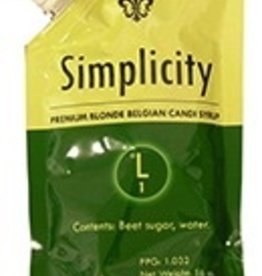 Adjuncts Simplicity Belgian Candi Syrup 1 Lb Pouch (1 Lovibond)