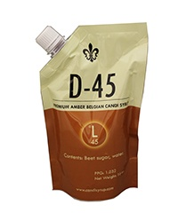 Adjuncts D45 Belgian Candi Syrup 1 Lb Pouch (45 Lovibond)